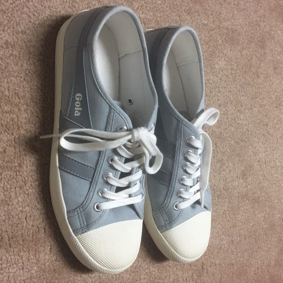 Gola Canvas Coaster Sneakers Pale